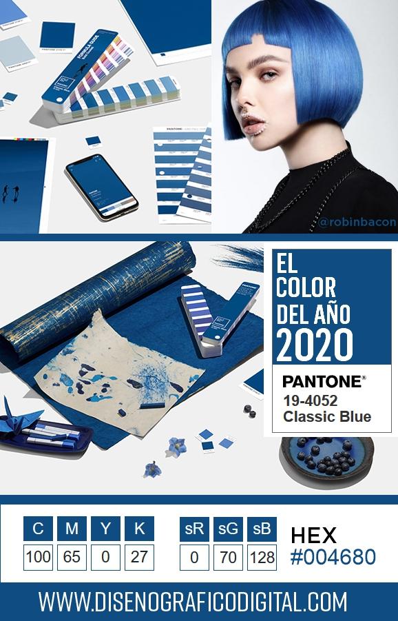 Ejemplos del color del año 2020 aplicado