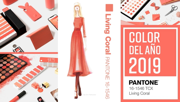 El color tendencia en el año 2019 - CORAL VIVIENTE -