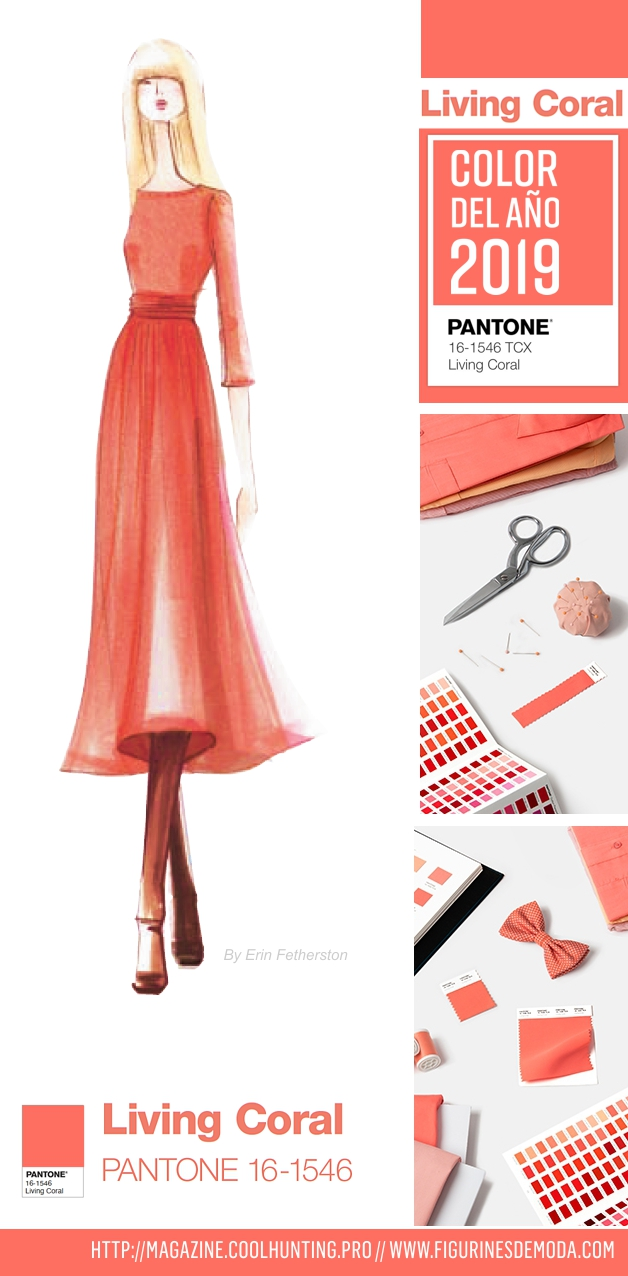 El color del año 2019 LIVING CORAL