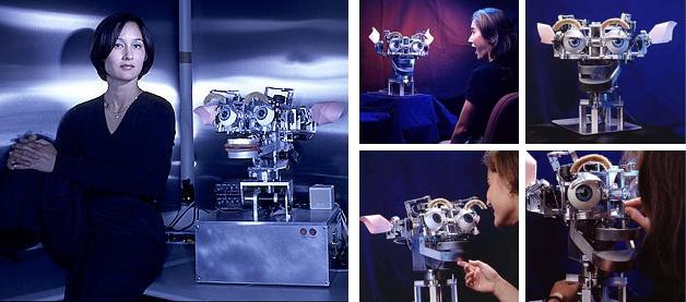 Cynthia Breazeal MIT con el robot KISMET