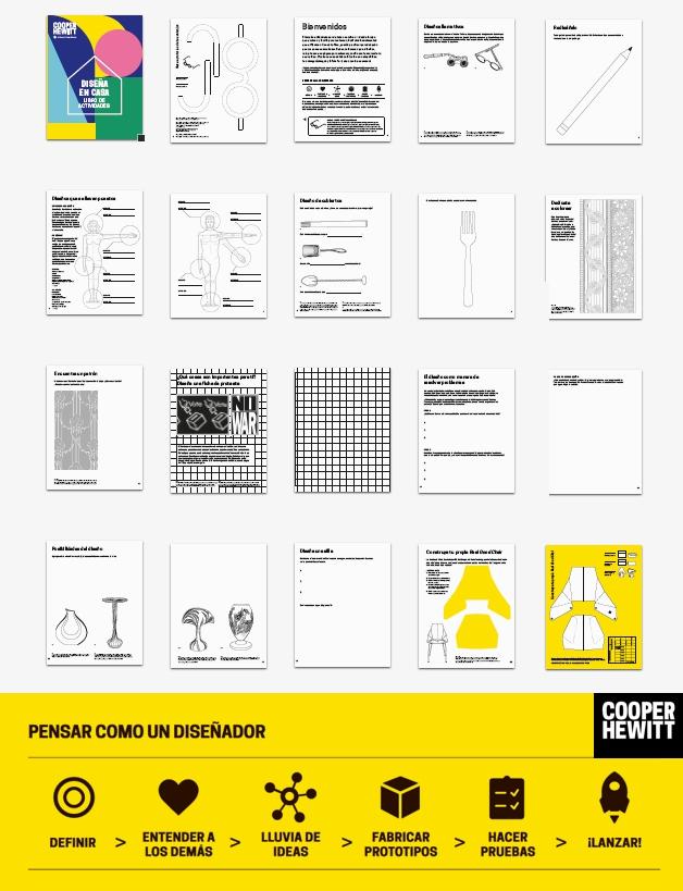 Descarga el libro de actividades de diseño DISEÑA EN CASA
