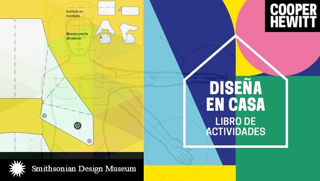 Descarga gratis el libro de actividades de diseño DISEÑA EN CASA