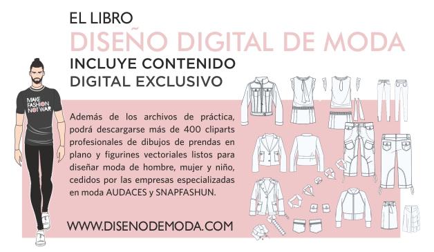 Contenido exclusivo del libro DISEÑO DIGITAL DE MODA