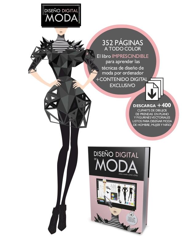 El libro DISEÑO DIGITAL DE MODA