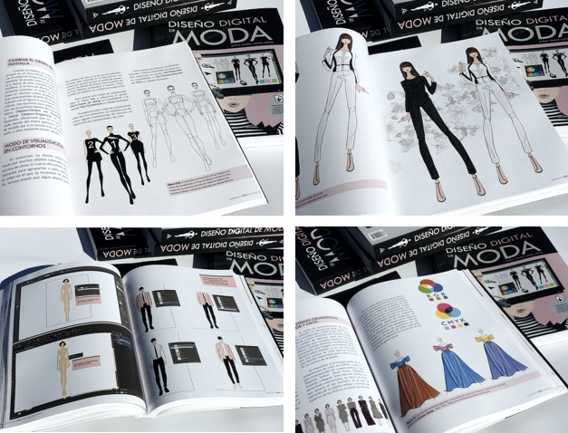 Diseño de moda por ordenador con Adobe Illustrator y CorelDRAW