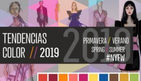 Figurines de moda con las tendencias de color 2019