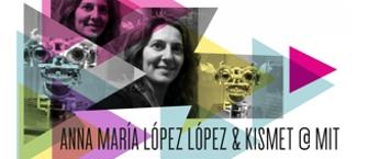 ANNA MARIA LOPEZ LOPEZ con el robot KISMET en el MIT