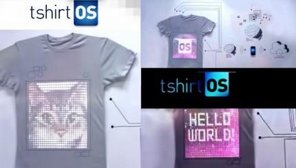 La camiseta interactiva TshirtOS
