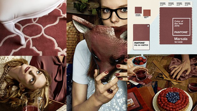 Color del año 2015 - MARSALA - Coolhunting Magazine