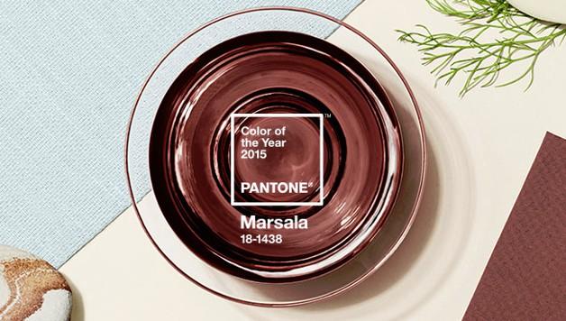 Color del año 2015 - Rojo Marsala