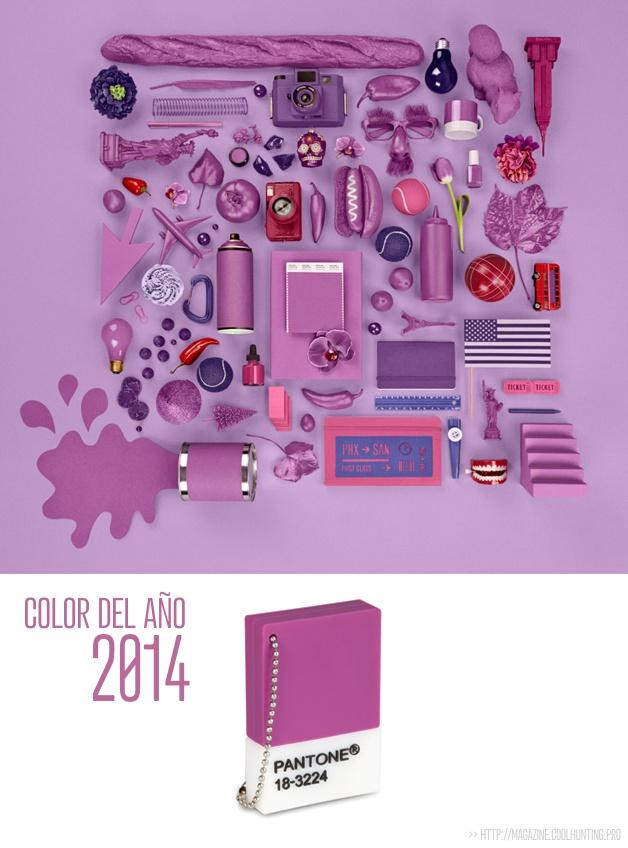 El color del año 2014 - Orquídea Radiante - Pantone Radiant Orchid