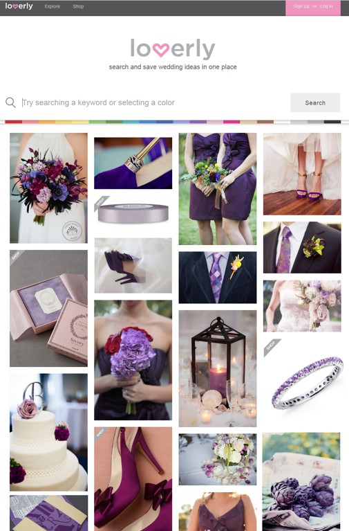 Coolhunting , cazando tendencias de bodas con Loverly