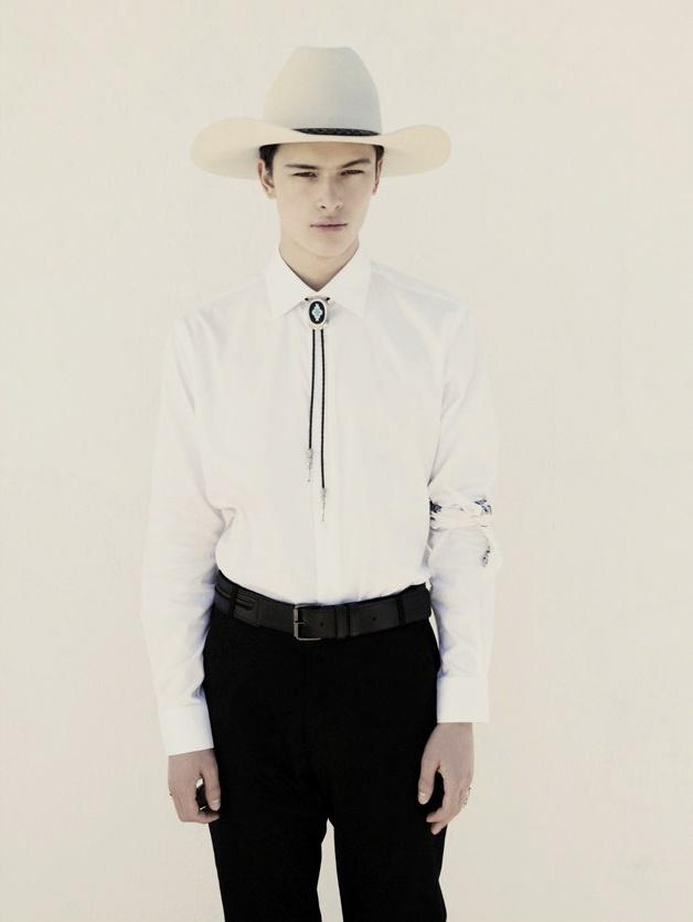 La corbata de bolo o bolo tie de estilo cowboy
