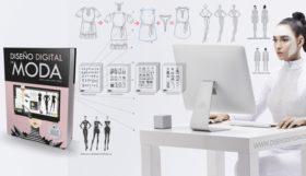 Una diseñadora de moda digital