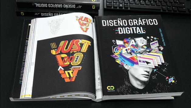 Ejemplo de diseño gráfico digital