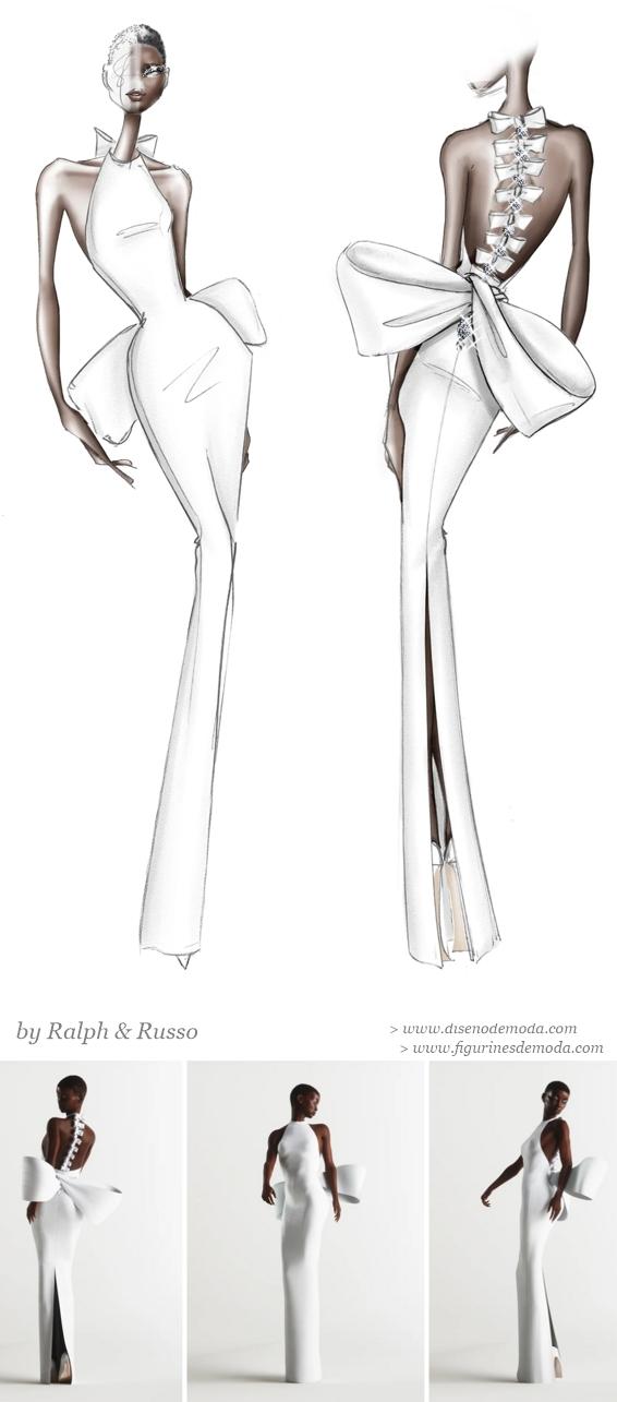 Figurines de moda tradicionaes y la modelo virtual