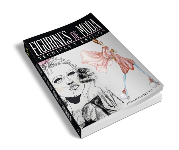 El libro FIGURINES de MODA - Técnicas y Estilos de la editorial ANAYA Multimedia
