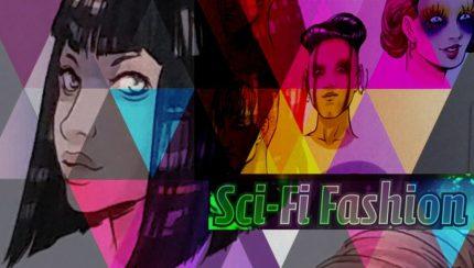 Scifi-Fashion Escuela de Arte , el libro para dibujar moda estilo ciencia ficción