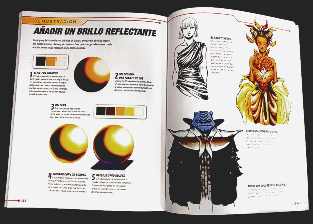 Páginas del libro Sci-Fi Fashion