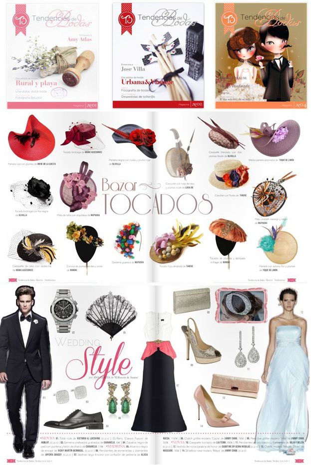 Revista digital TENDENCIAS de BODAS