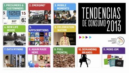 10 Tendencias de consumo cruciales para el 2013