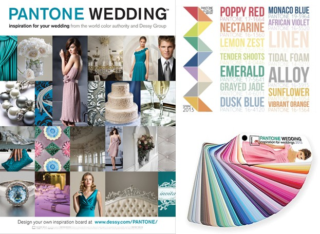 Tendencias color PANTONE WEDDING - Tendencias color para bodas